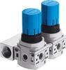 LRB-1/4-DB-7-O-K2-MINI Pressure regulator manifold -- 540040