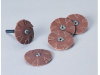 Standard Abrasives 724394 A/O Aluminum Oxide AO Overlap Disc - Eyelet Attachment - 1 1/4 in Diameter - 41500 -- 051115-41500