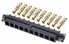 10 Pos. Female SIL 12AWG Cable Conn. Kit, Jackscrews -- M80-4000000F1-10-325-00-000 - Image