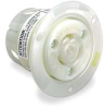 Receptacle,Flanged,3P,3W,20A,125/250V -- 3D108