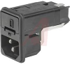 Module, Pwr Entry;AC Inlet and 2-Pole Fuseholder;Screw-On Mt;Quick Conn.;13A -- 70080699