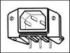 MULTICOMP - 2146 - CONNECTOR, POWER ENTRY, PLUG, 15A -- 233586