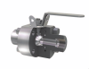 Small Sizes Forged Floating Flanged Ball Valve