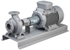 Horizontal, Long-coupled Volute Casing Pump -- Etanorm SYT / RSY - Image