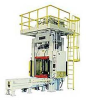 Diespotting Press with Frontal Swing-Out Platen