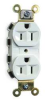 Snap Connect Receptacle,15A,Office White -- 1TGC4