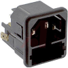Module, Pwr Entry;Appliance Inlet;Snap-In Mt;Quick Conn.;10A;250VAC;50Hz -- 70080704