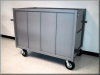 Closed Wall Cart w/ Swinging Gate - Image