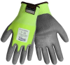 Global Glove Samurai PUG-517 Lime/Gray 2XL Yarn/Fibers Cut-Resistant Gloves - ANSI A4 Cut Resistance - Polyurethane Palm & Fingers Coating - PUG517 2XL -- PUG517 2XL
