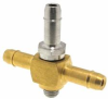 10-32 Thread Barbed Cross Fitting -- MCCS Series -Image