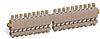 "Multiple Sight Feed Valve, Solid Gasket, 19 Valves, 1/8"" Female NPT Inlet, (19) 1/8"" Female NPT Outlets -- YB4689-119 -Image"
