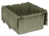 Heavy Duty Attached Top Tote Containers -- 53016