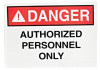 Safety Visual Sign -- DSS-6