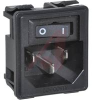 POWER ENTRY MODULE, 1U HEIGHT POWER, 15A, 5 LOAD/SWITCH TERMINALS -- 70185952