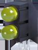 5MM BI-LEVEL Y/Y PCB LED -- WP1503EB/2YD