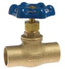 Lead Free* Stop and Waste Valve with Solder Ends -- LFSWS -- View Larger Image
