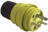 Watertight Rubber Housing Plug, Yellow -- 14W49 -- View Larger Image