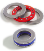 Stainless Steel Thrust Bearings with Nylon Ball Retainers -- 42S005