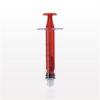 Medallion® Syringe, Male Luer Lock, Red -- C1027 -- View Larger Image