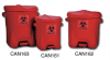 Biohazard Poly-Waste Containers with Foot Lever -- X178