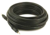 A/V Cable, 3.5mm M/M cable, Black,25ft -- 14X102