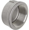 304 Stainless Steel Cast Pipe Fitting, Cap, Class 150, N… - Image