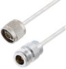 N Male to N Female Cable Assembly using LC141TB Coax, 5 FT -- LCCA30080-FT5 -Image