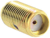 connector,rf coaxial,sma in-series adapter,straight jack to jack,gold plated -- 70142721