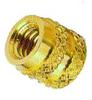 B1M Brass Molded Insert - Inch -- B1M-0256-125 - Image