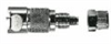 LC13004 - Coupling bodies; compression straight-through fitting; 1/4