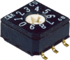 8mm DIP Coded Rotary Switches -- CD Series
