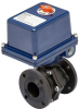 Electrically Actuated 2 PC Flanged Carbon Steel Ball Valve -- E5C Series