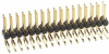 10+10 Pos. Male DIL Horizontal Throughboard Conn. -- M20-9701046 - Image