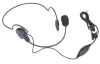 O-205 Ultralight Headset with Swivel Boom Microphone & PTT/ VOX Switch,. with straight connector. for ICOM IC-F3, F4, F4S, etc -- O-205
