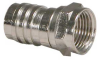 RG59 F-Type Crimp-on Connector w/Attached Crimp Ring -- 2701-SF-03