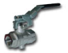 BVG4PLOCK BSPP FEM/FEM LOCKABLE VENTED VALVE W/ LEVER HANDLE -- BVG4P-1LOCK