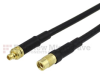 MMCX Plug to MMCX Jack Cable RG-174 Coax in 36 Inch and RoHS Compliant -- FMC0924174LF-36 -Image