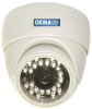 Indoor 24 IR Day & Night Dome Color Camera -- SIRD24-74243