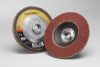 3M Cubitron II 967A Type 29 Coated Ceramic Aluminum Oxide Flap Disc - 40 Grit - 4 1/2 in Diameter - 55620 -- 051141-55620 - Image