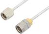 SMA Male to 1.85mm Male Cable 18 Inch Length Using PE-SR405FL Coax -- PE36541-18 -Image