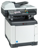 Color Multifunctional Printer - Print / Scan / Copy -- ECOSYS M6026cidn