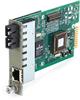 Dynamic Fiber Conversion System, 1000BASE-TX to 1000BASE-LX module, Single-Mode, 1310-nm, SC, 12 km -- LMC3052C-R2