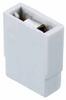 2 Pos. Female Jumper Socket, Open Shunt, Grey -- M7565-46 -- View Larger Image