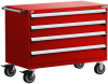 Heavy-Duty Mobile Cabinet, with Partitions -- R5BHE-3019 -Image