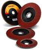 3M Cubitron II 967A Type 27 Ceramic Aluminum Oxide Flap Disc - 40+ Grit - 4 1/2 in Diameter - 7/8 in Center Hole - 86855 -- 051125-86855 - Image