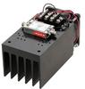 27 dBm P1dB, 8 GHz to 12.4 GHz, Medium Power Amplifier with Heatsink, SMA, 30 dB Gain, 6 dB NF -- PE15A4063F -Image