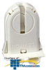 Leviton Fluorescent Lampholder for Medium Bi-Pin Lamp with.. -- 23653-NP