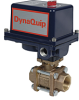Electrically Actuated 3 PC Bronze Ball Valve -- EVA Series