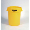 Brute® Container 32 Gallons - Yellow -- RP2632-YEL