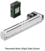 Linear Actuator (Slide) - Reversed Motor (Left Side), Y-axis Table with Built-in Controller (Stored Data) -- EAS4LY-D010-ARAKD-3 -Image